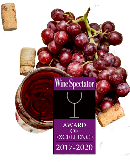 Wine Spectator Award of Excellence 2017