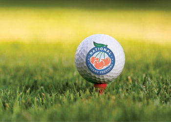 National Cherry Festival Golf Ball