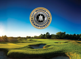 Michigan Open Championship Logo