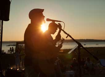 Live beach music during Memorial Day Weekend