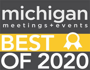 Michigan meetings + Events Best of 2020 Logo
